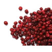 Arándanos deshidratados rojos