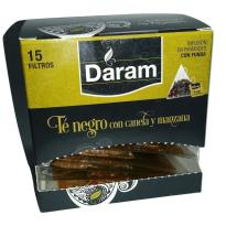 Té negro con canela y manzana - 15 piramides
