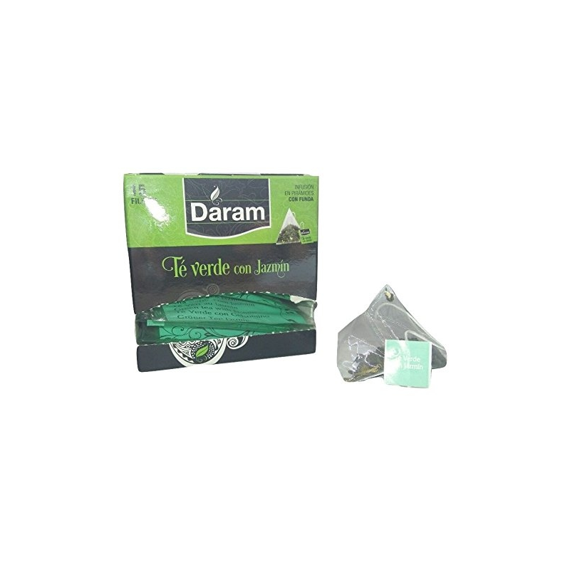 Té verde con Jazmín - 15 piramides