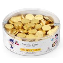 Moneda de chocolate con leche SIMON&COLL