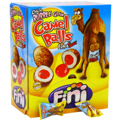 FINI-Chicle Bubble Gum Camel Balls