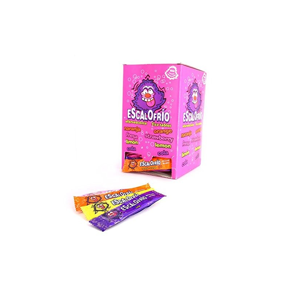 Escalofrios - caramelo comprimido efervescente 150 Unid