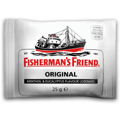 Caramelos Fisherman's Friend Original  12 Unid