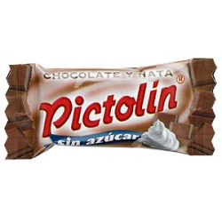 Pictolín chocolate-nata sin azúcar