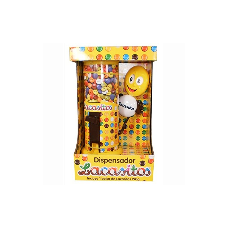 Dispensador Lacasitos 150 Gr grageas