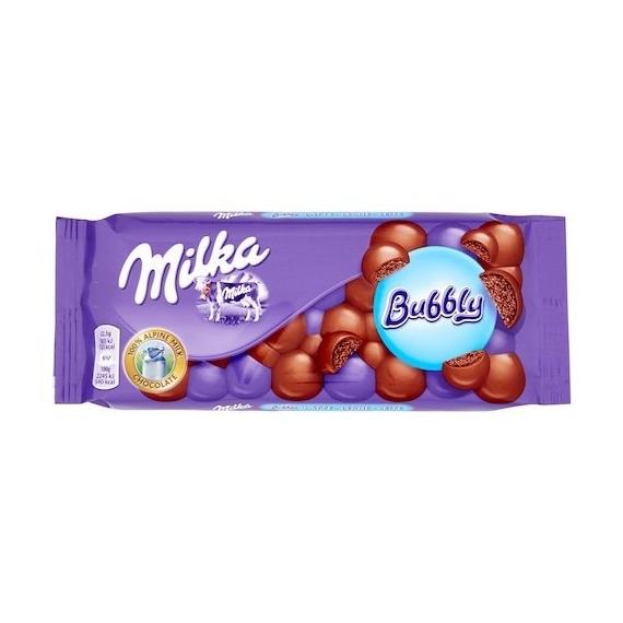 Milka BUBBLY  milk
