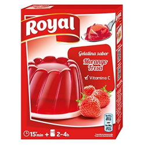Royal Gelatina Fresa - 170 Gramos