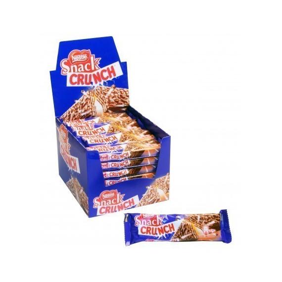 CRUNCH Snack Nestle 28 Unidades