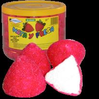 Merengue Fresas nata GOLMASA 200 Unid