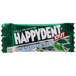 HAPPYDENT XYLIT Chicle CLOROFILA 200 Unid