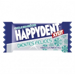 HAPPYDENT XYLIT Chicle EUCAMENTHOL 200 Unid