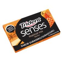 TRIDENT  SENSES Tropical Mix 12 Paquetes