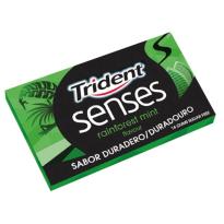TRIDENT  SENSES Menta Hierbabuena 12 Paquetes