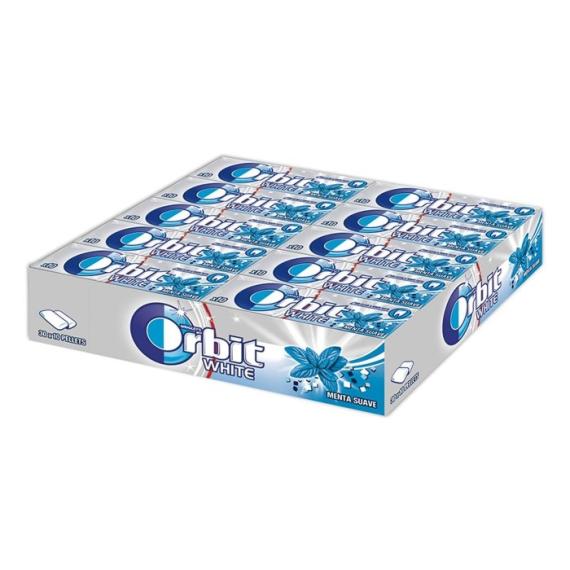 Orbit White Sweet Mint  Menta Suave 30 Unid sin azúcar