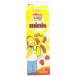 Minis The Simpsons Cacao ARLUY 275 Gr