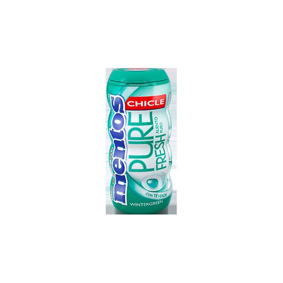 Mentos Pure Fresh Gum WinterGreen 10 Unid