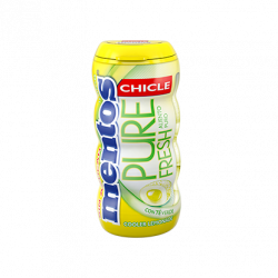 Mentos Pure Fresh Gum COOLER LEMONADE 10 Unid