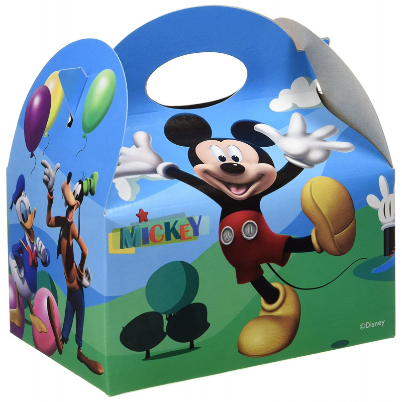Caja Fiesta Mickey Clubhouse  12 Unid