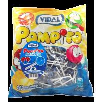 Pompito caramelo con palo  VIDAL 200 Unid