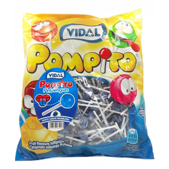 Pompito Pintalenguas  VIDAL 200 Unid