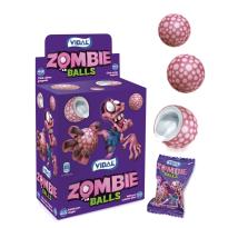 Chicle Zombie Balls VIDAL 200 unid