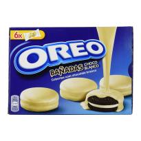 Oreo Bañadas Chocolate Blanco 6 bolsas x 2 unidades