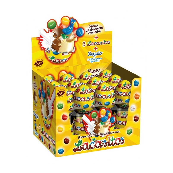 Huevo Chocolate Lacasitos  24 Unid