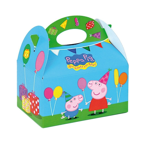 Caja Fiesta Peppa Pig  12 Unid