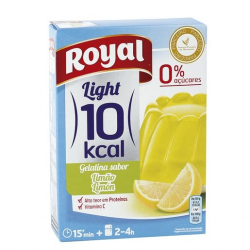 Royal Gelatina Limón Light  - 31 Gramos