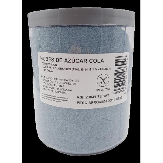 Algodón de azúcar sabor Cola 1 Kg