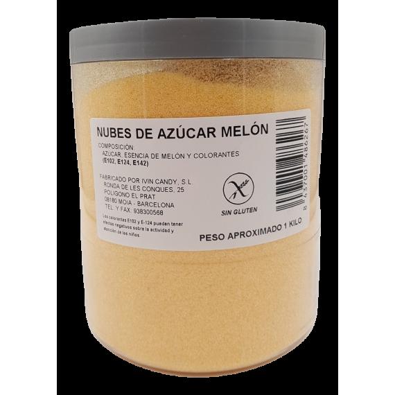 Algodón de azúcar sabor Melón 1 Kg