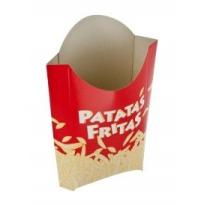 Envase Patatas Fritas Cartón 50 Unid