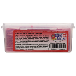 Cintas Pica Fresa  KING REGAL 200 Unid
