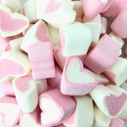 FINITRONC CORAZONES Marshmallows 125 Unid