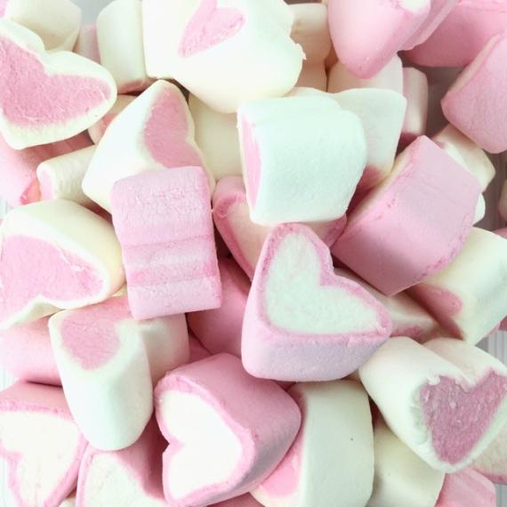 FINITRONC CORAZONES Marshmallows 125 Unid