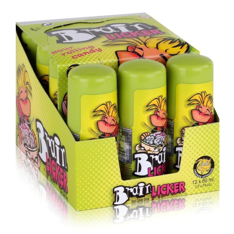 Brain Licker Pintalenguas  FREEKEE CANDIES 12 unidades