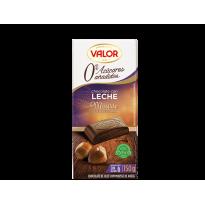Chocolate con Leche y Mousse de Avellana. 0% Azúcares Añadidos VALOR 150 GR