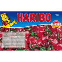 Cerezas Super Brillo HARIBO 1 Kg