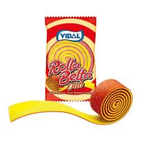 Rolla Belta Duo Fresa - Plátano VIDAL 24 Unid