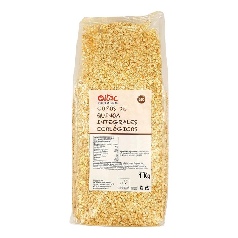Copos de Quinoa Integrales Ecológicos ITAC 1 Kg