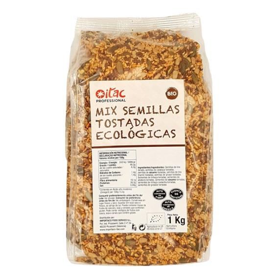 Mix Semillas Tostadas Ecológicas  ITAC 1 Kg