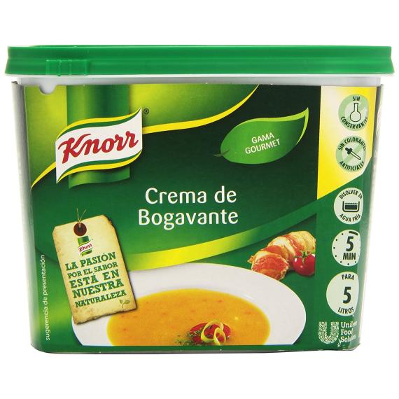 Crema de Bogavante KNORR 375 Gr
