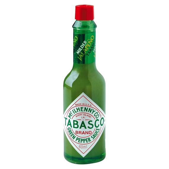 TABASCO VERDE  Salsa Jalapeños 60 ML