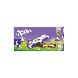 Milkinis Barritas chocolate MILKA 8 barritas