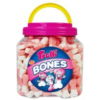Bones Huesos  TROLLI 250 unidades