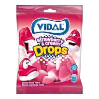 Besos Fresa - Nata  VIDAL 100 Gr