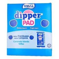 DIPPER PAD Azul  Frambuesa Pintalenguas VIDAL 100 Unid