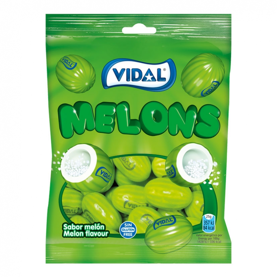 Melones Chicle  VIDAL 100 Gr