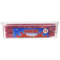 Torcidas Regaliz Rojo HARIBO 50 Unid