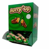 Chocolatinas HURRY´UP 60 Unid